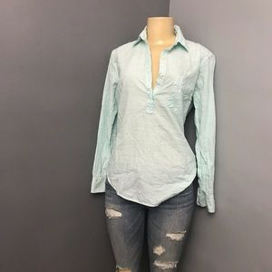 GAP striped dressy shirt size small